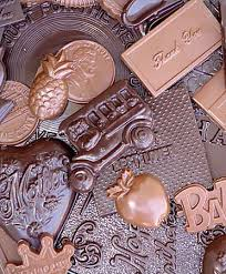 of the chocolate molds