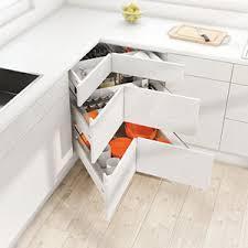 meubles angle cuisine meubles d angle space corner blum aménagement de la cuisine 4903