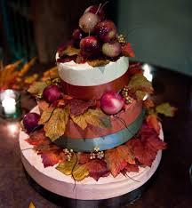 5 wedding cake ideas for fall bridalguide