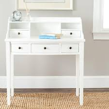 White Desk With Hutch by Safavieh Landon White Desk Amh6516d The Home Depot