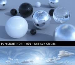 hdr image based lighting 3d scene setup 3d architectural