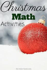 christmas math activities the tutor coach