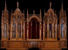 onlinegalleries com an antique gothic eight door mahogany