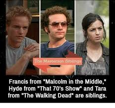 The Middle Memes - the masterson siblings francis from malcolm in the middle hyde from