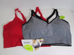 Delta Burke Delta Burke Sports Bra 3x 42c 44dd Red What U0027s It Worth