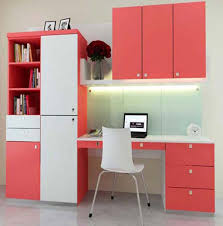 modern peach and white study table for kids best study table for