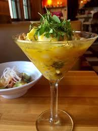 martini onion martini de tigre ceviche personal chef blog