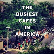 are these the 10 busiest coffee shops in america right now