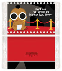 a star is born hollywood baby shower popcorn wrappers baby