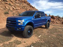 Ford F150 Truck Bumpers - lariat sport 6 inch bds with ptm grille and bumper ford f150