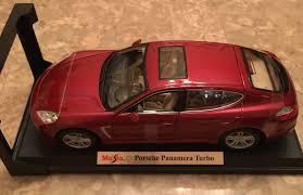 porsche panamera red maisto 1 18 scale porsche panamera turbo diecast vehicle colors