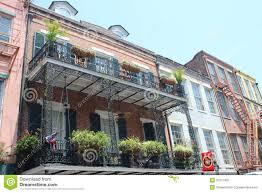 New Orleans French Quarter Map by New Orleans French Quarter Editorial Image Image 31877350