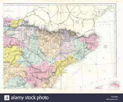 Catalonia Spain Map by Catalonia Map Stock Photos U0026 Catalonia Map Stock Images Alamy