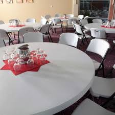72 Round Tables 72 In Commercial Round Banquet Table White Granite
