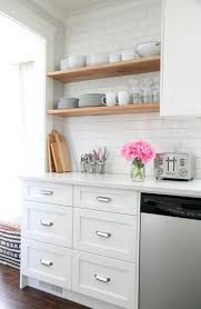 Kitchen Open Shelves Ideas 53 Best Kitchen Open Shelving Images On Pinterest Open Shelving