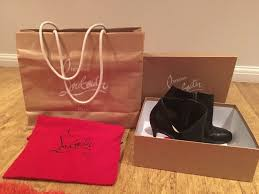 genuine christian louboutin boots size 7 in billericay essex