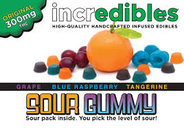 incredibles edibles sour gummy incredibles