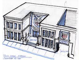 Police Station Floor Plan Police Station Layout Exterior Design