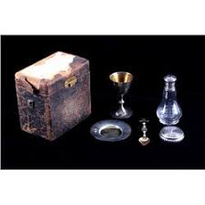 travel communion set gorham sterling silver holy communion set