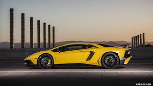 yellow lamborghini 2016 lamborghini aventador lp 750 4 superveloce yellow side hd