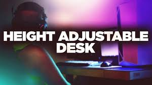 tresanti sit to stand power height adjustable tech desk cheapest height adjustable table in the market tresanti youtube