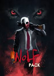 halloween wolf background payday 2 wolf pack overkill software