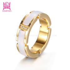 gold ring design for men new 2014 design channel jewelry gold ring ceramic for men