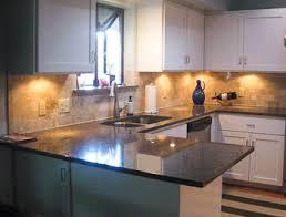 austin granite kitchen in tropical brown