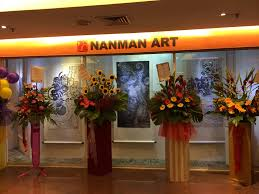 floral art exhibition wallpapers nanman art