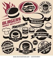 Home And Design Logo Fast Food Logo Design Design Elements Vector Collection Of