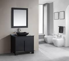 Adorna  Inch Single Sink Bathroom Vanity Set With LED Lighting - Elements 36 inch granite top single sink bathroom vanity