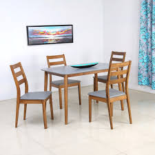 Nilkamal Kitchen Furniture Home By Nilkamal Kartell Engineered Wood 4 Seater Dining Set Price