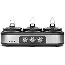 target black friday price buffet server amazon com bella triple slow cooker and buffet server 3 x1 5 qt
