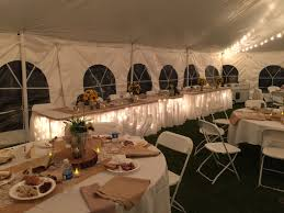 Restaurant String Lights by Spring Ranch Wedding Rent Today G U0026 K Event Rentals
