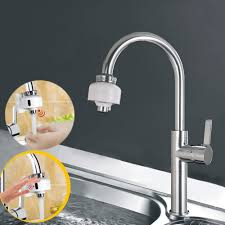 sensor faucet kitchen dual automatic touchless motion sensors faucet fast assembly water