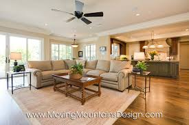 Modern Country Family Room Dream Home Designer - French country family room
