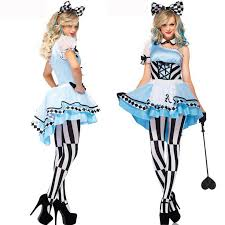 Cheap Size Womens Halloween Costumes Cheap Size Alice Wonderland Costume Aliexpress