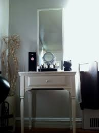 bedroom bedroom dressing table lighted mirror in snazzy brown