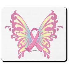 breast cancer symbol breast cancer butterfly ribbon