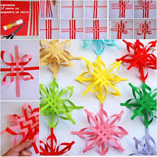 paper snowflake ornament diy tutorial beesdiy