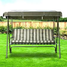outdoor swing replacement canopy outdoor swing seat cushions