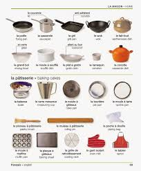 ustensile de cuisine patisserie vocabulaire la maison les ustensiles de cuisine de