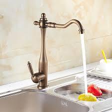 antique brass kitchen faucet inspired kitchen faucet antique brass finish at faucetsdeal com