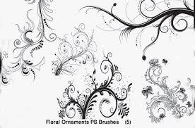 an amazing collection of free floral brushes pixelbell