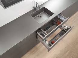 Wasted Space Under A Sinksorted With The Blum Under Sink Drawer - Kitchen sink drawer