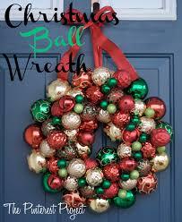 christmas ball wreaths u2013 happy holidays