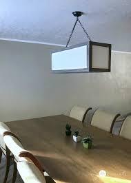 off center light fixture rectangle chandelier my love 2 create