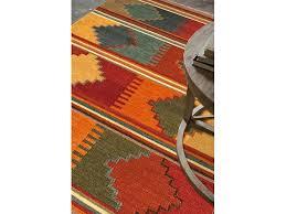 8x10 Red Area Rug Jaipur Rugs Floor Coverings Flat Weave Tribal Pattern Wool Red