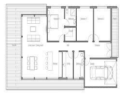 floor plan for small modern house