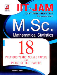 iit jam m sc mathematical statistics joint admission test buy